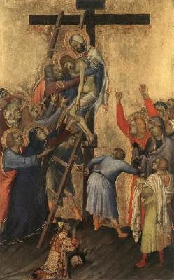 famous jesus on the cross painting